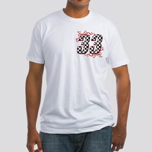 RaceFashion.com 33 Fitted T-Shirt