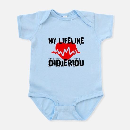 My Lifeline Didjeridu Baby Light Bodysuit