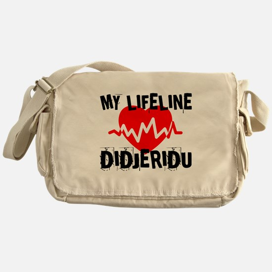 My Lifeline Didjeridu Messenger Bag