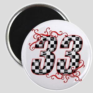 RaceFashion.com 33 Magnet