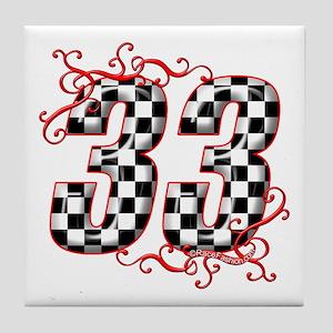 RaceFashion.com 33 Tile Coaster