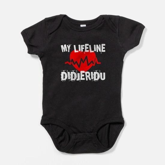 My Lifeline Didjeridu Baby Bodysuit