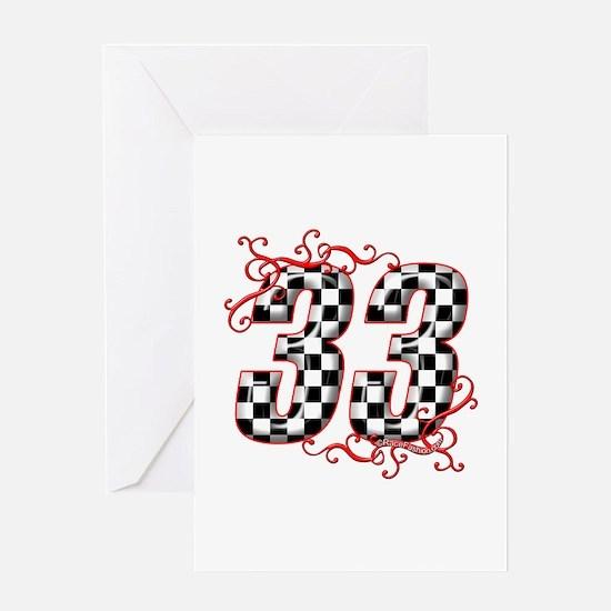 RaceFashion.com 33 Greeting Card