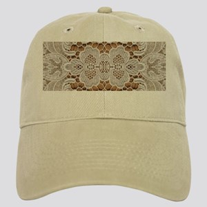 girly hipster vintage white lace Cap