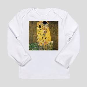 The Kiss - Gustav Klimt Long Sleeve T-Shirt