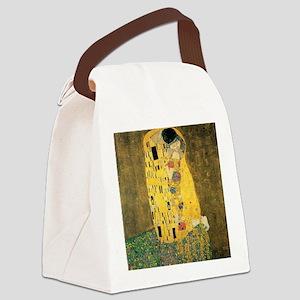 The Kiss - Gustav Klimt Canvas Lunch Bag