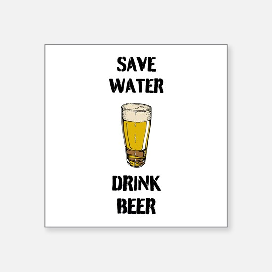 Drink Beer Sticker