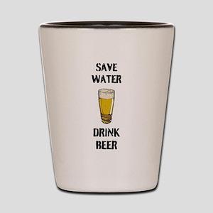 Drink Beer Shot Glass