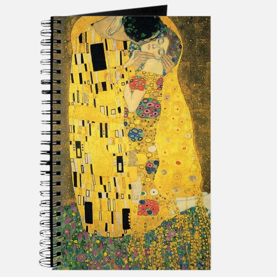 The Kiss - Gustav Klimt Journal