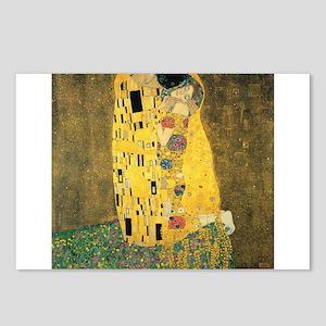 The Kiss - Gustav Klimt Postcards (Package of 8)