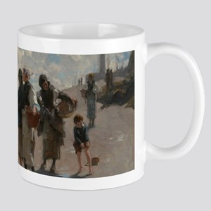 Fishing for Oysters at Cancale - John Sargent Mugs