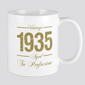Vintage 1935 Birthday Mugs