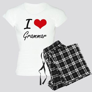 I love Grammar Women's Light Pajamas