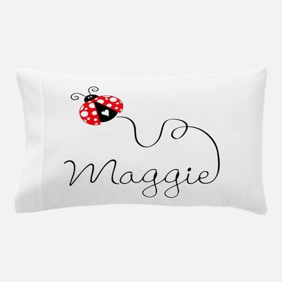 Ladybug Maggie Pillow Case