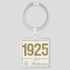 Vintage 1925 Birthday Keychains