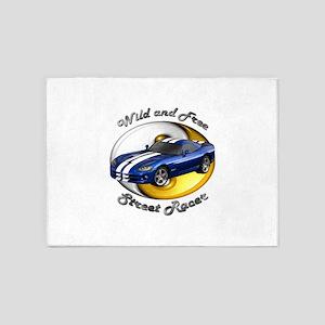 Dodge Viper 5`x7`Area Rug