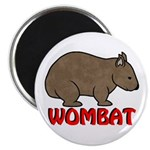 Wombat Logo Magnet