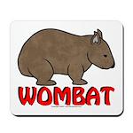 Wombat Logo Mousepad
