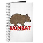 Wombat Logo Journal