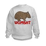 Wombat Logo Kids Sweatshirt