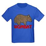 Wombat Logo Kids Dark T-Shirt