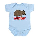 Wombat Logo Infant Bodysuit