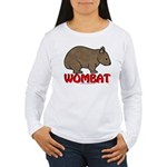 Wombat Logo Women's Long Sleeve T-Shirt