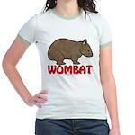 Wombat Logo Jr. Ringer T-Shirt