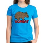 Wombat Logo Women's Dark T-Shirt