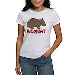 Wombat Logo Women's T-Shirt