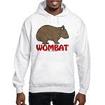 Wombat Logo Hooded Sweatshirt