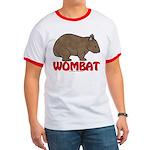 Wombat Logo Ringer T