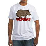 Wombat Logo Fitted T-Shirt
