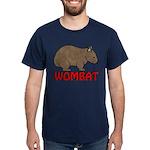 Wombat Logo Dark T-Shirt