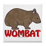Wombat Logo Coaster Tile