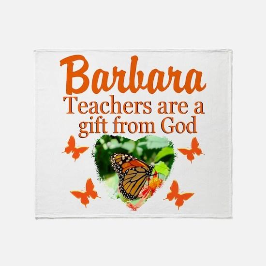 GOD LOVING TEACHER Throw Blanket