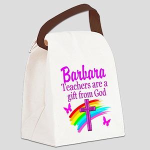 RELIGIOUS TEACHER Canvas Lunch Bag