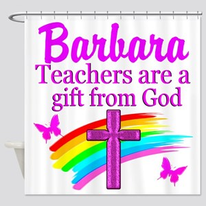 RELIGIOUS TEACHER Shower Curtain