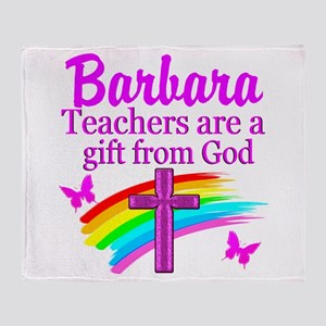 RELIGIOUS TEACHER Throw Blanket
