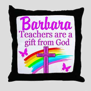 RELIGIOUS TEACHER Throw Pillow