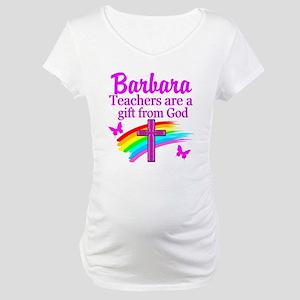 RELIGIOUS TEACHER Maternity T-Shirt