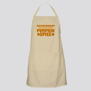 Accountant Powered by Pumpkin Spice Apron