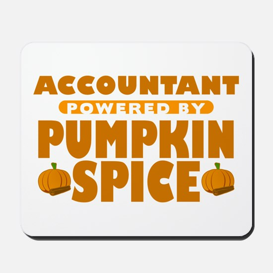Accountant Powered by Pumpkin Spice Mousepad