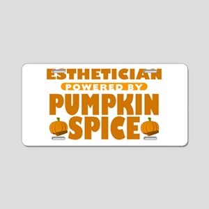 Esthetician Powered by Pumpkin Spice Aluminum Lice