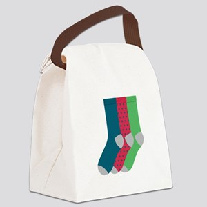 Socks Canvas Lunch Bag