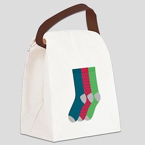 Socks Canvas Lunch Bag