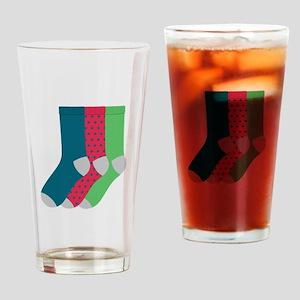 Socks Drinking Glass