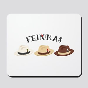 Fedora Hats Mousepad
