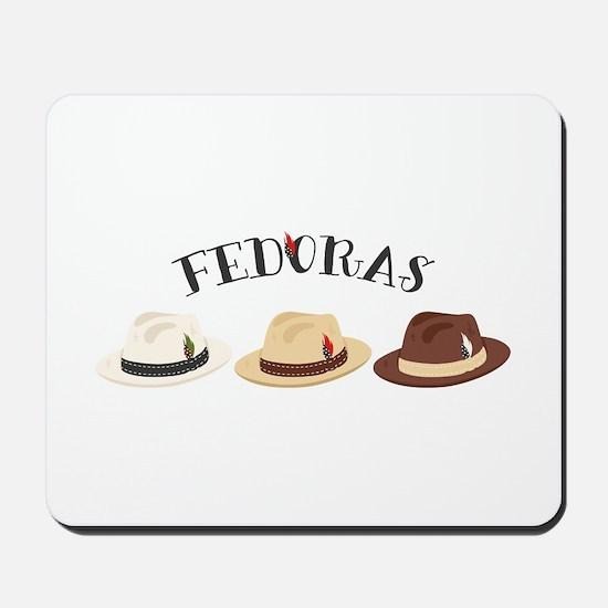Fedora Hats Mousepad