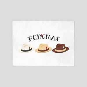 Fedora Hats 5'x7'Area Rug